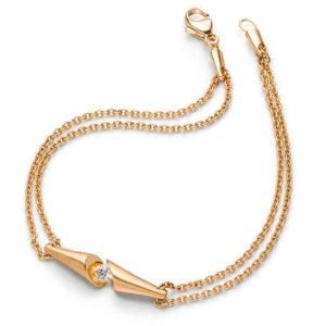 Design armband Calla met briljant geslepen diamanten