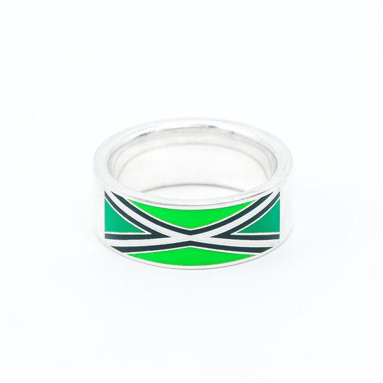 Achterhoekse vlag ring