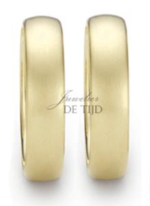 Ivory exclusieve kleur gouden trouwringen