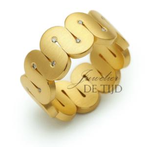 Niessing Arabeske AU900 gouden ring