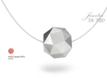 Kristallit ®Design hanger in 18 karaats goud of platina