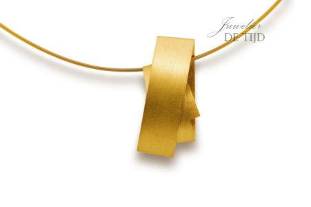 Gouden of platina design hanger Bänder