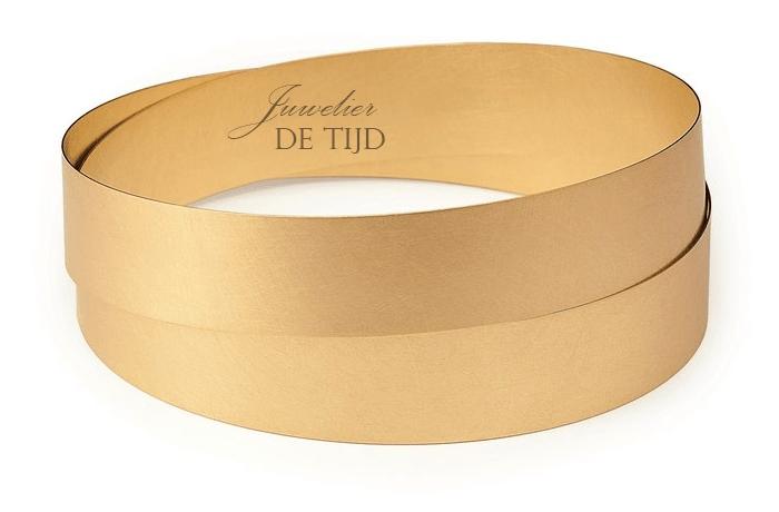 Gouden of platina NiessingDesign armband Bow