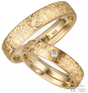 14 karaats geel gouden trouwringen Eléa