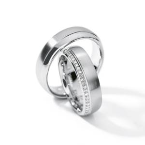 Design trouwringen Brillante