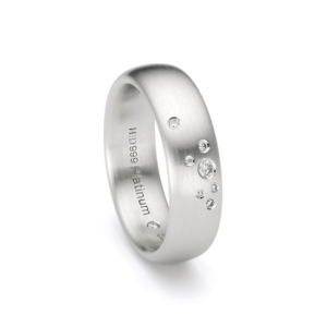Design trouwring Purest Platinum