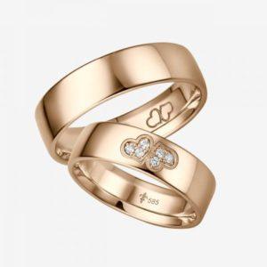 Design trouwring Fabienne