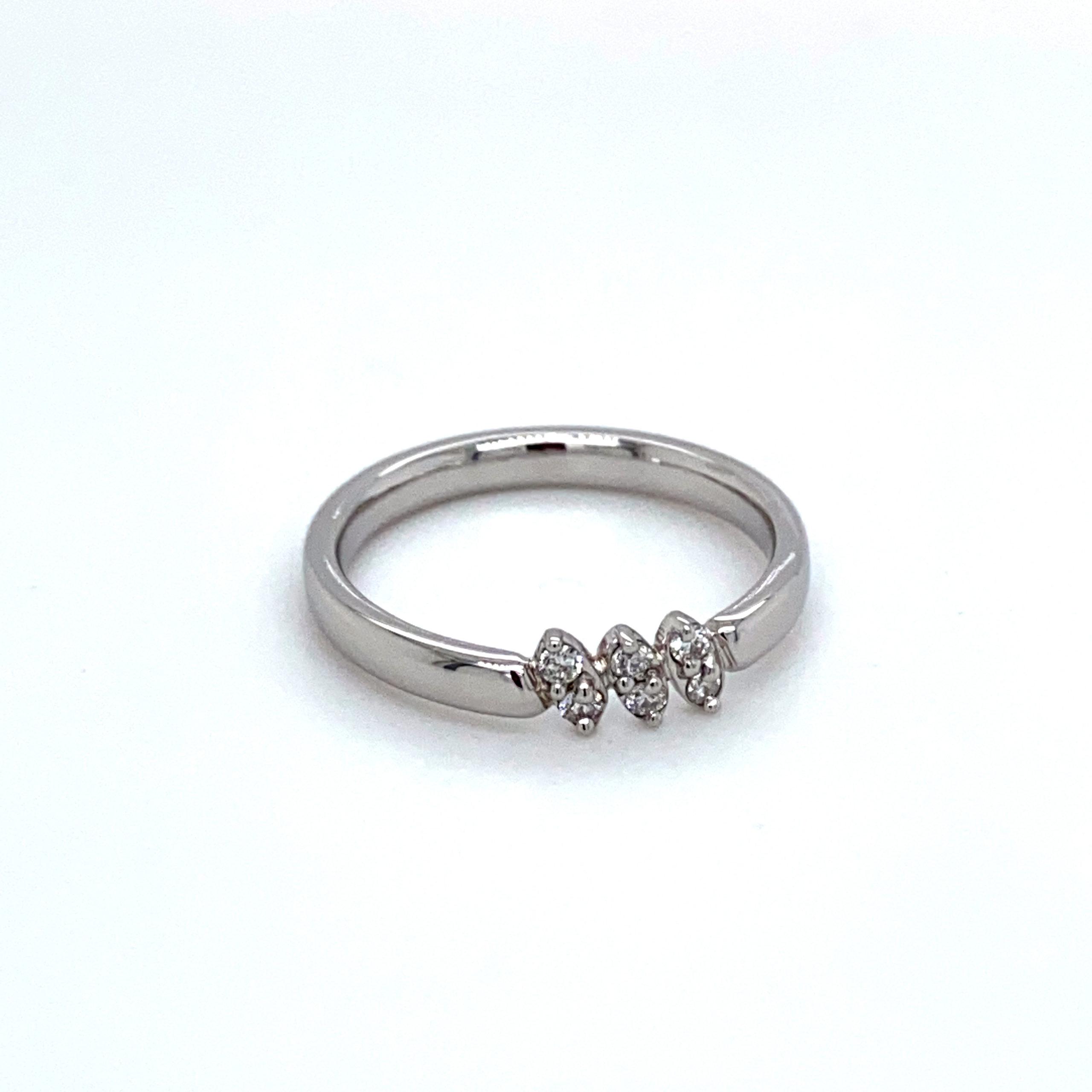 Platina design ring