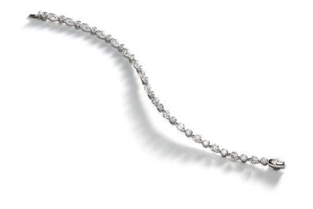 Design armband Liberté met briljant geslepen diamanten