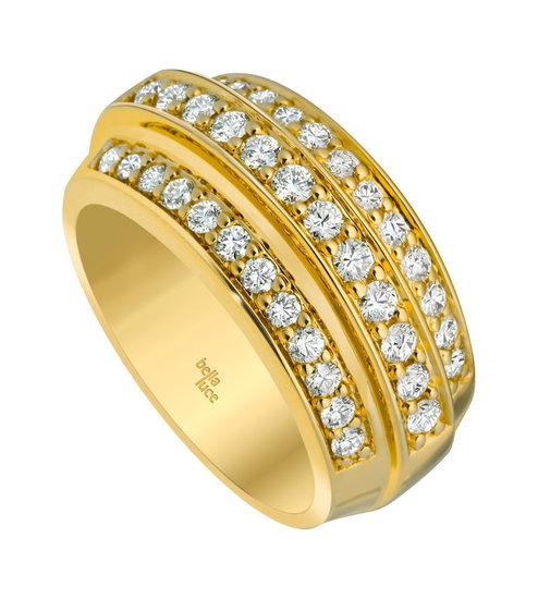 Gouden ring Marie ® met briljant