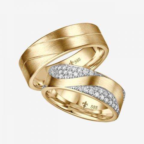 Design trouwring Yvonne