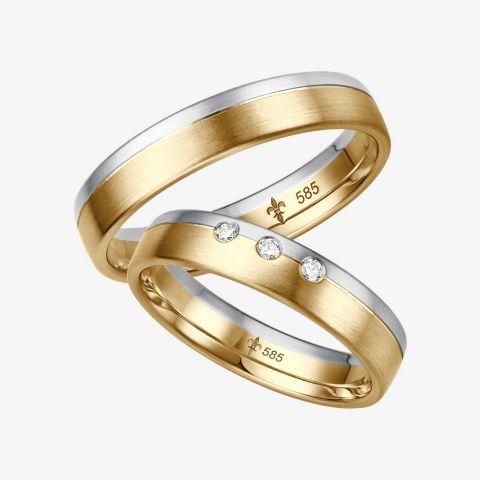 Design trouwring Odette
