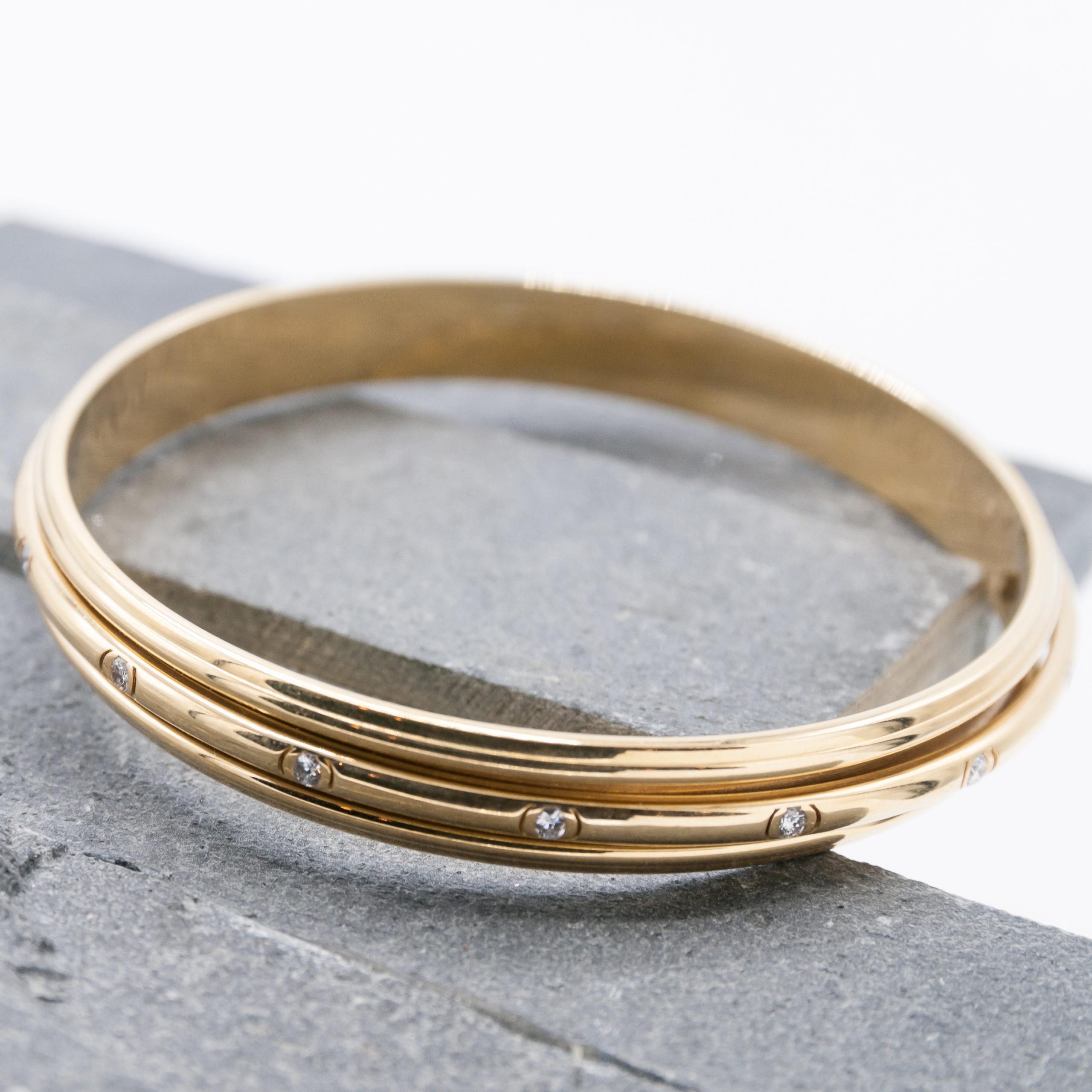 Piaget armband 18 karaats geelgoud