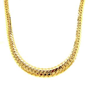 14 karaats gouden collier
