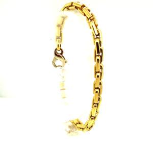 18 karaats geelgouden armband