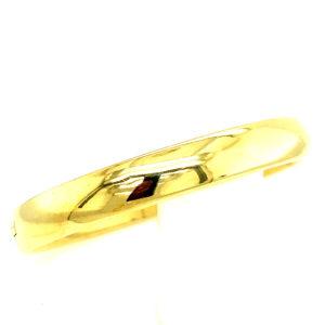 14 karaats geelgouden slaven armband