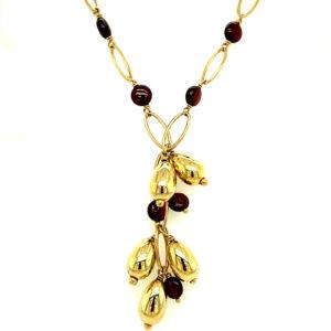 14 karaats geelgouden collier