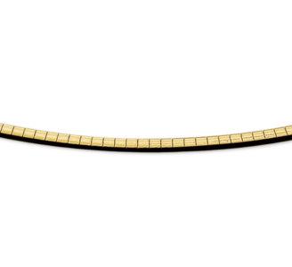 14 karaats geelgouden omega collier