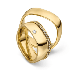 Design trouwringen Forma triset