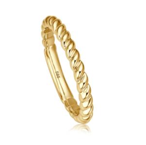 Geelgouden ring Bella II