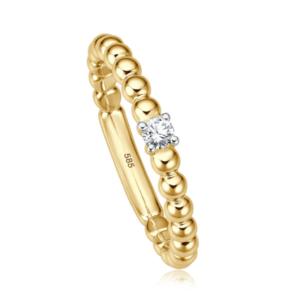 Geelgouden ring Bella IV