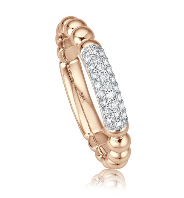 Witgouden ring Colleziona I