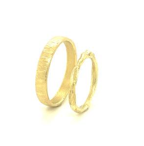 Handgemaakte trouwringen Ewyn