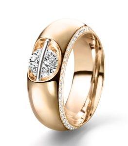 Geelgouden Liberté ring