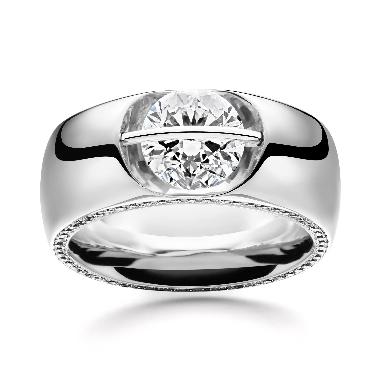 Witgouden Liberté ring