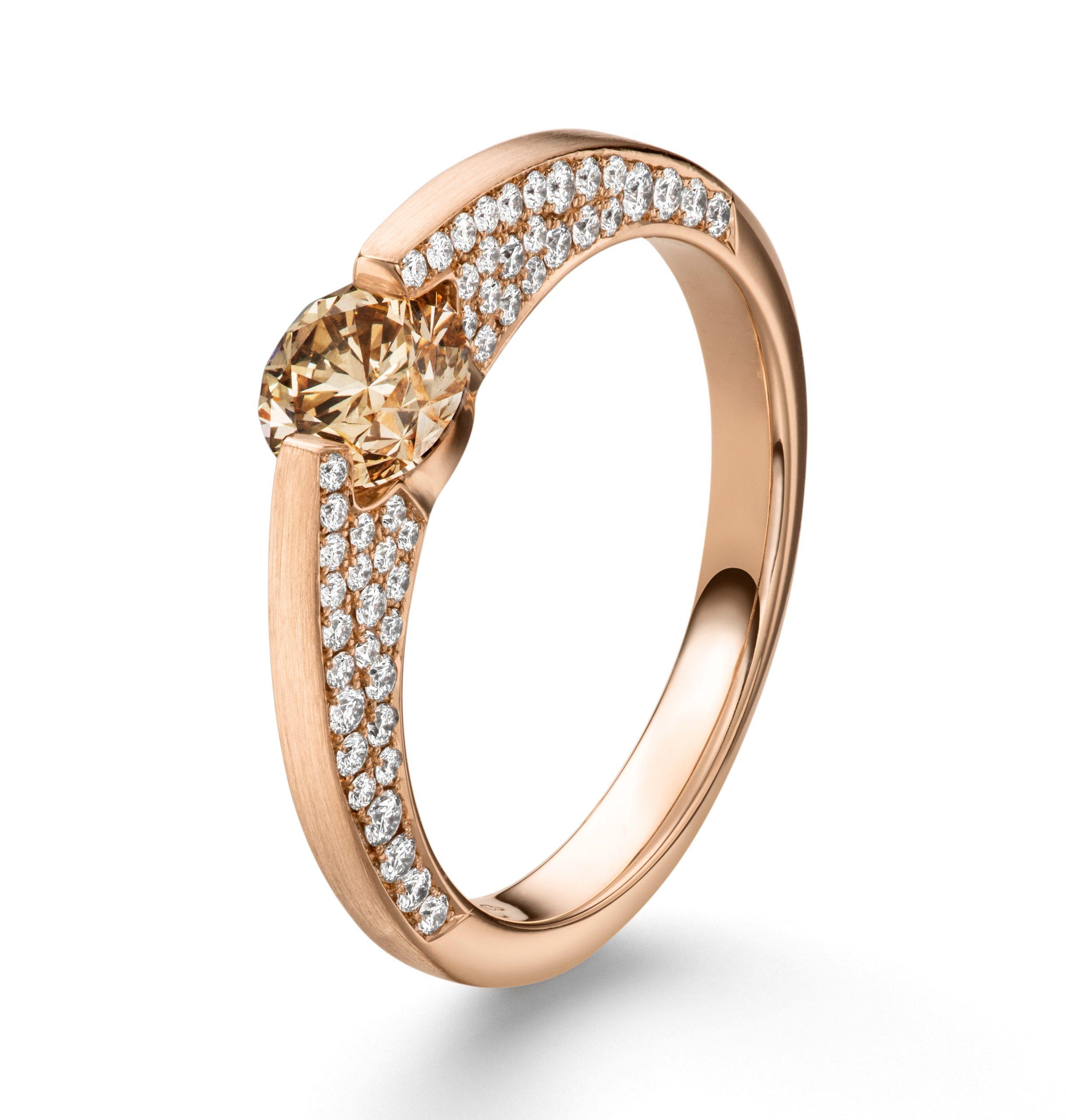 Roségouden Liberté ring