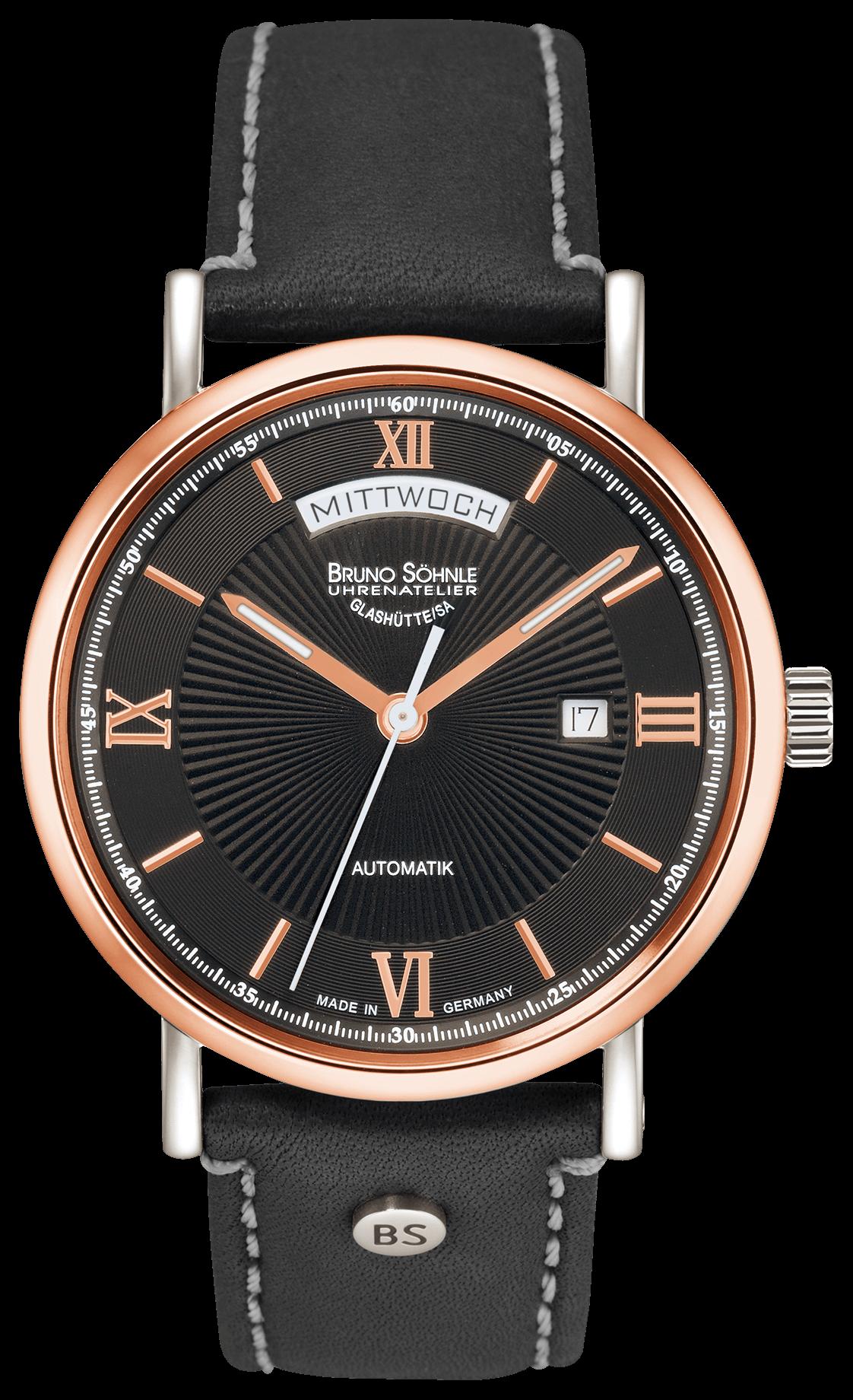 Bruno Söhnle horloge – Lagomat Day-date – 17-62148-271