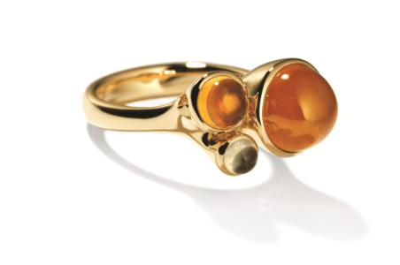 Rosegouden design ring Tremolo