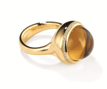 Rosegouden design ring Tremolo model 2