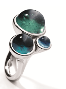 Platina design ring Tremolo