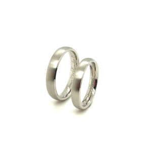 Platina 600 trouwringen