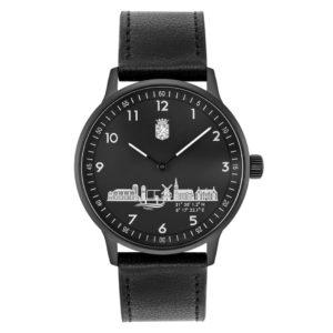 Doetinchem horloge 43mm leder