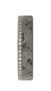 Meteoriet met 14 karaats roségouden trouwring